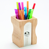 Wooden Giant Pencil Sharpener Desk Tidy  small