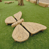Outdoor Wooden Butterfly  small