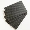Black Pattern Thread And Lacing Boards 4pk  small