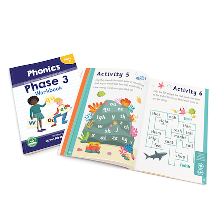 Letters \x26 Sounds Phonic Reader Workbooks  large