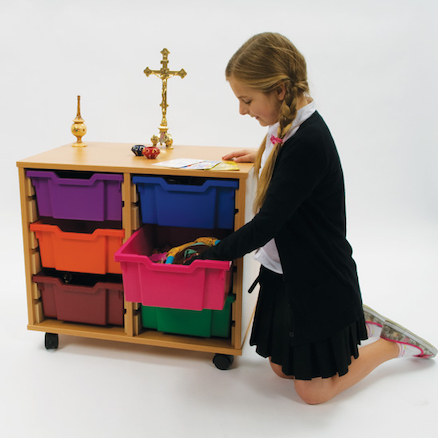 Religious Artefacts Storage Trolley  large