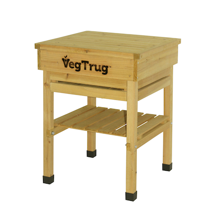 Veg Trug Kids Work Bench Natural Wood  large