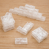 Glacier Effect Clear Plastic Ice Bricks  small