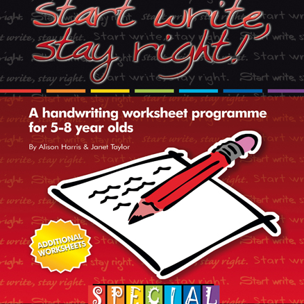 Start Write Stay Right 2 Handwriting Worksheets  large