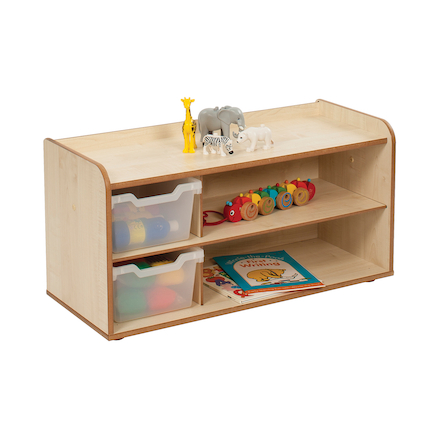 Solway Early Years Shelving 2 Tray  large