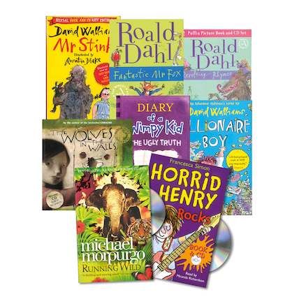 KS1 and KS2 Audio Books and CDs   large
