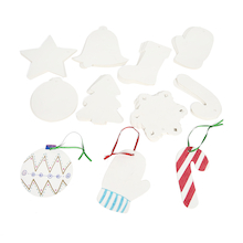 Card Christmas Tree Decorations 48pk  medium
