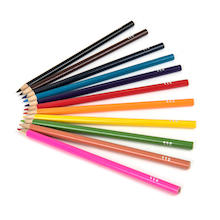 TTS Everyday Colouring Pencils Assorted  medium