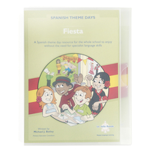 Spanish Theme Days Fiesta Activity Book  medium