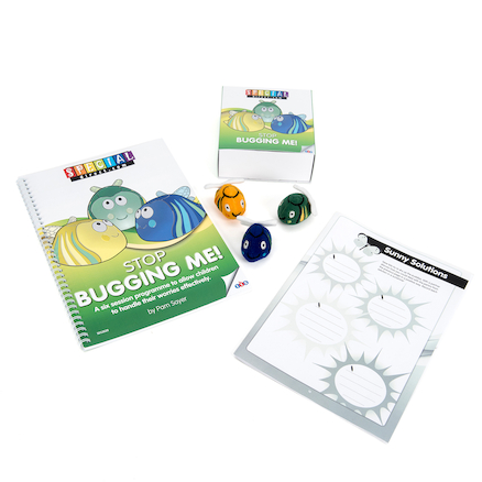 Stop Bugging Me Worry Activity Kit  large