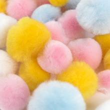 Spring Pom Mix 100pk  medium