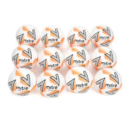 Mitre Impel Plus Footballs and Storage Bag 12pk  large