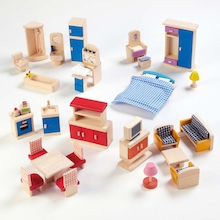 Small World Dolls House Rooms Furniture Set  medium