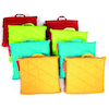 Outdoor Quilted Cushions 8pk Primary Colours  small