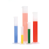 Translucent Plastic Measuring Cylinders  small