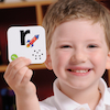 Talking Alphabet Recordable Cards  small