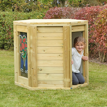 Outdoor Wooden Pod  medium