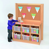 Room Scenes Tray Storage Unit With Divider  small