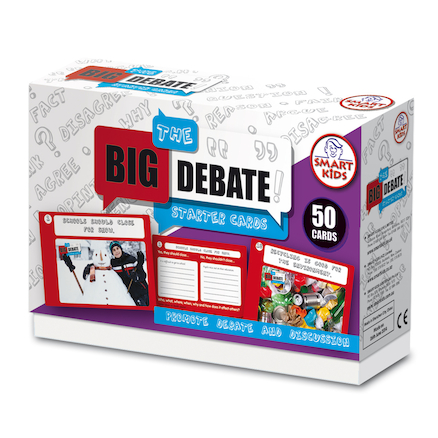 The Big Debate Starter Cards Ages 7+ 50pk A5  large
