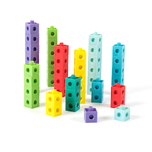 Number Frames Plastic Snap Cubes 1000pcs  medium