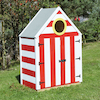Seaside Village Beach Hut Storage Shed  small