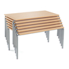 Crush Bent Classroom Table Packs L110cm  small