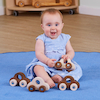 Natural Wooden Vehicles pk4  small