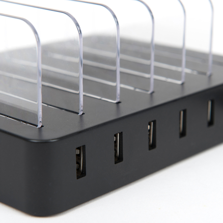USB Tablet Charge Rack  large