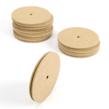 Wooden Pulleys 10pk  large