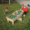 Micro World Outdoor Wooden Table  small