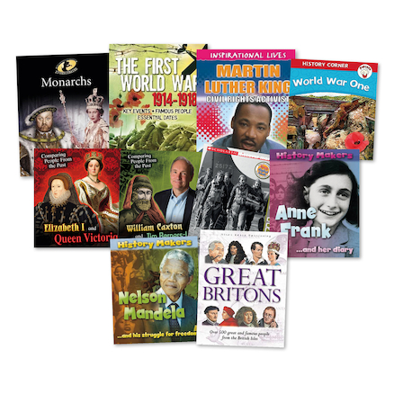 KS1 Significant People and Events Books 10pk  large