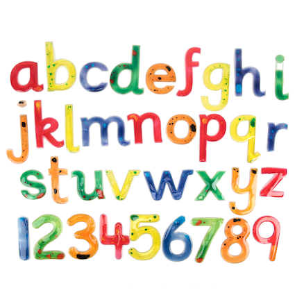 Squidgy Sparkle Letters and Numbers  large