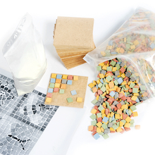 Mosaic Coaster Set 24pk  medium
