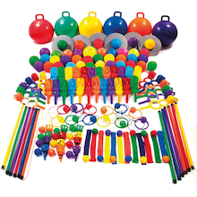 Six Colour Playground PE Equipment  medium