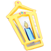 Mirrored Lantern Decorations  small