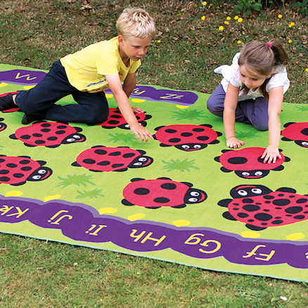 Chloe Caterpillar Outdoor Rug  large