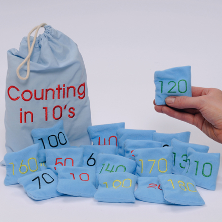 Beanbags Counting in 10s 20pcs  large