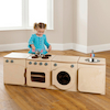 Playscapes Toddler Play Kitchen Set Of Four  small