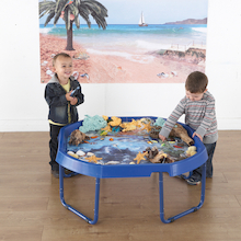 Active World Tuff Tray Ocean Photographic Mat  medium