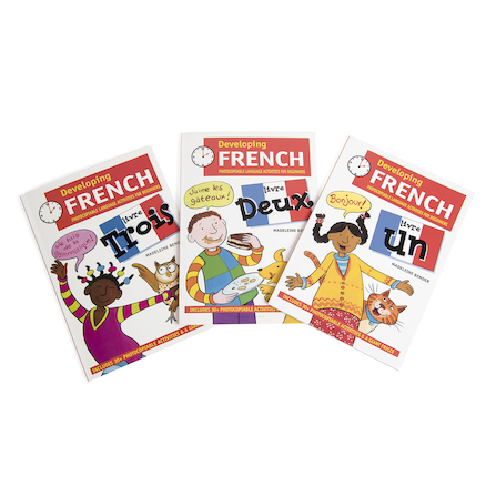 Developing French Books  large