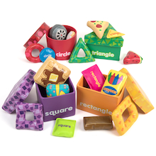 Shape Sorting Boxes  medium