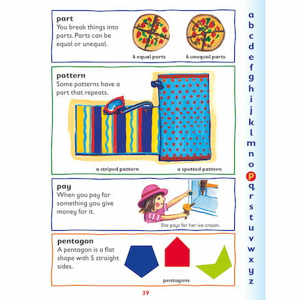 Oxford First Illustrated Maths Dictionary  large