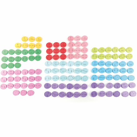 Foam Equivalence Action 367pcs  large