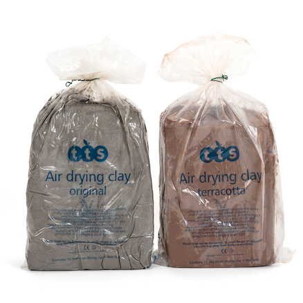 TTS Air Dry Modelling Clay  large