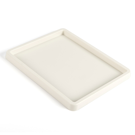 Shallow White Plastic Inking Tray  large