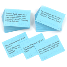 Word Problem Cards  medium