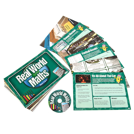 Real World Maths Activity Cards  large