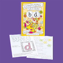 Confusing Letters Pupil Worksheets Book  medium