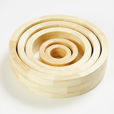 Outdoor Wooden Reels and Circles Multi Buy 13pcs  large