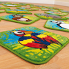 Wild Animals Mini Floor Mats 30pk  small